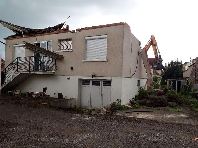 maison destruction